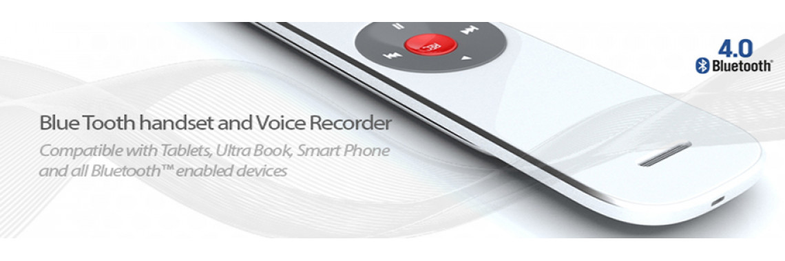 BlueTooth Recorder Handset