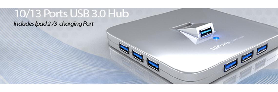 10/13 Port USB 3.0 Hub
