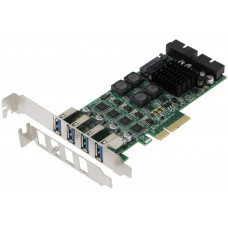 SEDNA - PCI-E to 8 Port USB 3.0 (USB 3.1 Gen I) Expansion Card (4E4I)