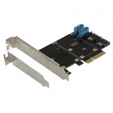 SEDNA - PCIe Quad SATA 6G 4 Port Raid Adapter with HyoperDuo Hard disk acceleration function