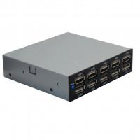 SEDNA - USB 2.0 10 Port Internal Hub (Floppy bay)