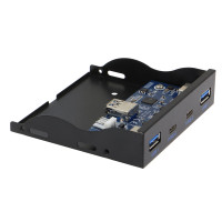 SEDNA - USB 3.1(  Gen I )  4 Port  Internal Hub  ( 2 x Type A + 2 x Type C ) ( Floppy Bay )