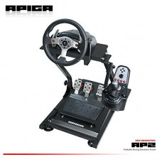 APIGA - AP2 Foldable Racing Simulator Stand plus gearshift mount