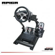 APIGA - AP2 Foldable Racing Simulator Stand plus gearshift mount