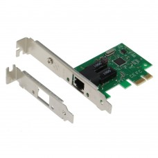 SEDNA - PCIE 10/100/1000Mbps Gigabit Ethernet Adapter (LAN Card) with Low Profile Bracket (Realtek 8111 Chipset)