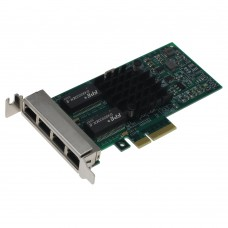 SEDNA - PCIE 4X 4 Port Giga LAN Adapter (Intel I350AM4 chip set) with low profile bracket (Support VMware ESXi 5.5)
