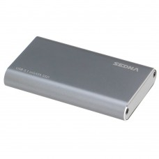 SEDNA - USB3.1 (GEN II) mSATA SSD (10Gbps) External Enclosure ( Micro B connector ) , Super slim size