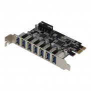 Sedna - PCIE 7 Port USB 3.0 Adapter Card ( 7 External Ports )