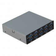 SEDNA 10 Port USB 3.0 Front Panel Hub